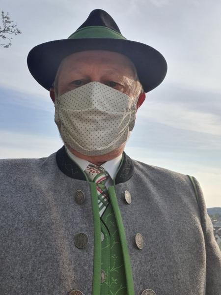 Obm. mit Schutzmaske